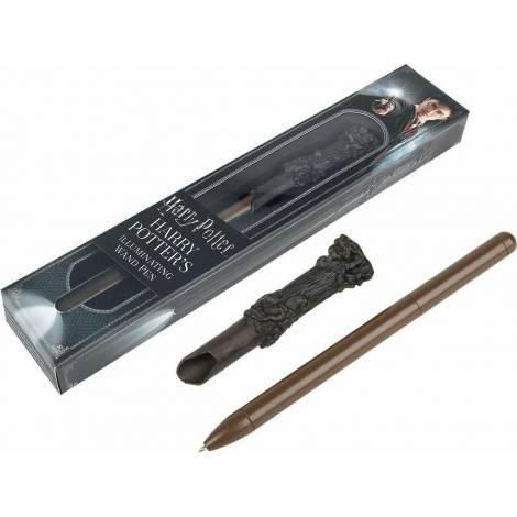 The Noble Collection - Στυλό και φωτιζόμενο ραβδί Harry Potter  (NN8042)