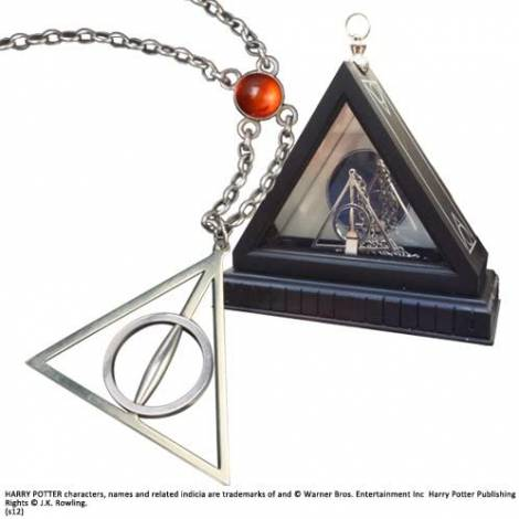The Noble Collection The Deathly Hallows Necklace (NN7007)