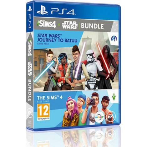 The Sims 4 & Star Wars Journey To Batuu - Game Pack Bundle (PS4)