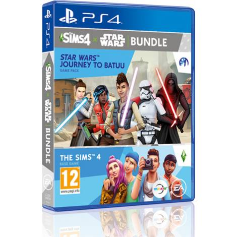 The Sims 4 & The Sims 4 Star Wars Bundle (PS4)