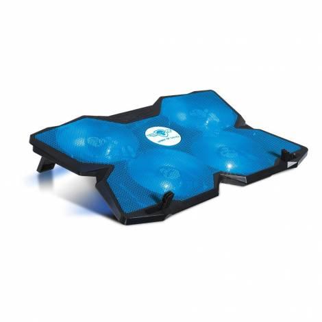 The Spirit of Gamer sog-ve500bl Laptop Cooler BLUE 17 120 mm