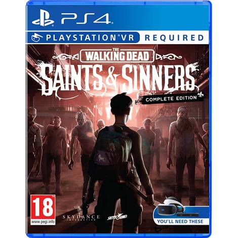 The Walking Dead : Saints & Sinners Complete Edition  (VR Required) (PS4)