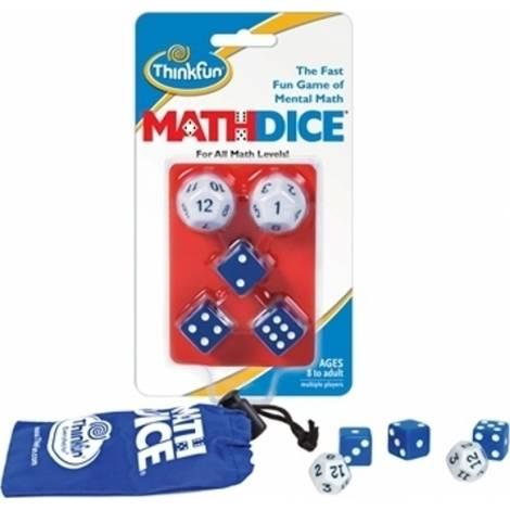 Think Fun - Logic Game : Math Dice (001510)