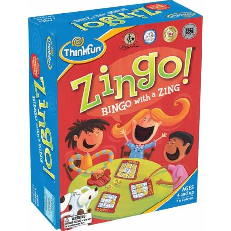 Think Fun - Logic Game : Zingo (007700)
