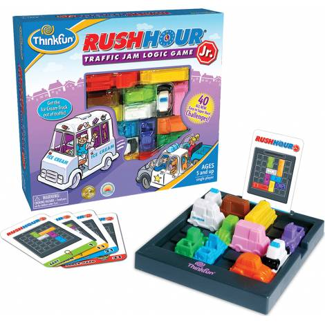 Think Fun : Παιχνίδι λογικής - Rush Hour JR (005041)