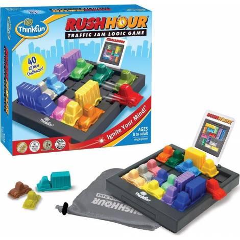 Think Fun Παιχνίδι Rush Hour - μποτιλιάρισμα επιτραπέζιο (5000)