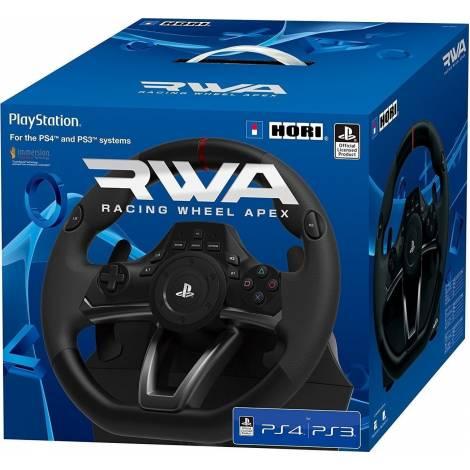 Τιμονιέρα για PlayStation 3, PlayStation 4 και PC Hori Racing Wheel Apex (PS4-052E)