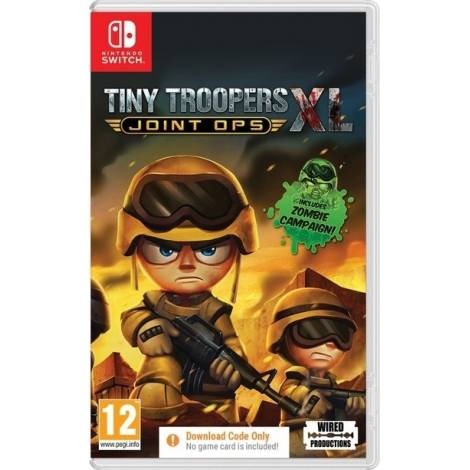 Tiny Trooper : Joint Ops XL - Code In A Box (NINTENDO SWITCH)