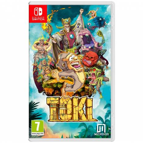 Toki Microids Replay ( Code In A Box ) (Nintendo Switch)