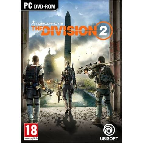TOM CLANCY'S THE DIVISION 2  (PC) (Cd Key Only κωδικός μόνο)
