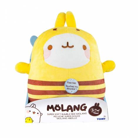 Tomy : Molang Super Soft Plush Figure Bumble Bee Molang 25 cm