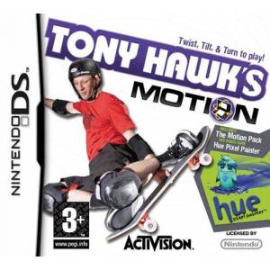 Tony Hawk's Motion (includes The Motion Pack and Hue: Pixel Painter) (NINTENDO DS)