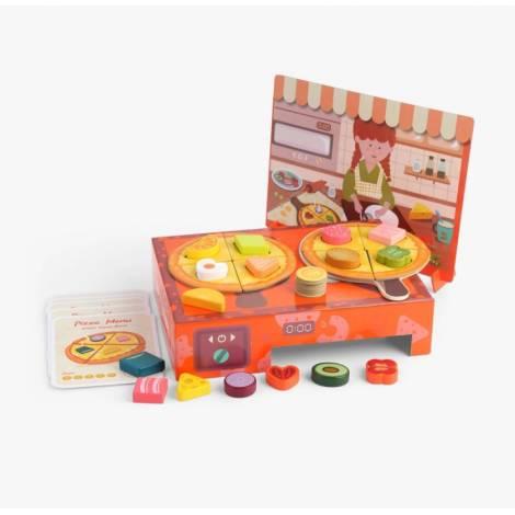Top Bright Logi-Shape Pizza Box (460010)