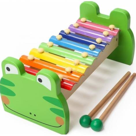 Top Bright Frog Xylophone Green (460001)