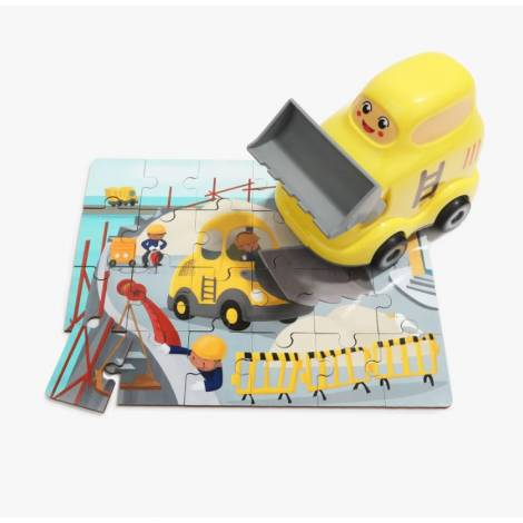 Top Bright Wooden Puzzles in Bulldozer (460005)
