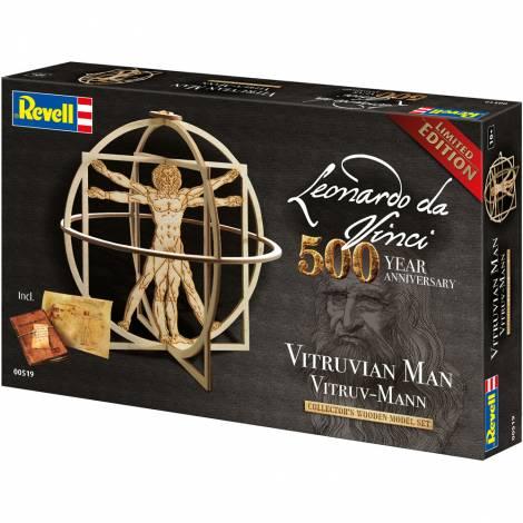 TOY REVELL VITRUVIAN MAN 500 YEARS LEONARDO DA VINCI (00519)