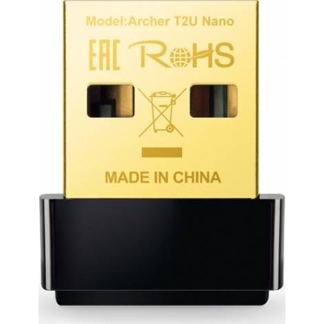 TP-Link AC600 - Archer T2U Nano Wireless USB Adapter V1