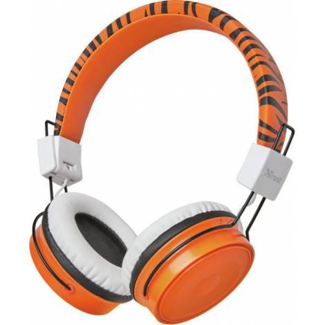 Trust Comi Wireless Kids Headphones Orange (23583)