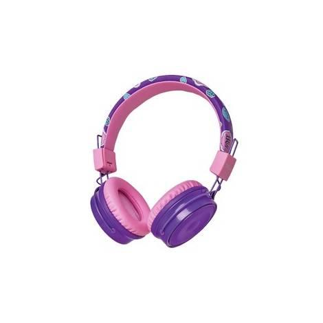 Trust Comi Wireless Kids Headphones Purple (23608)