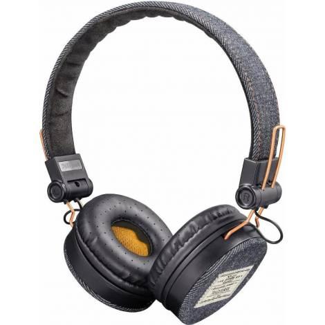 Trust Fyber Headphones - Dark Denim (22643)