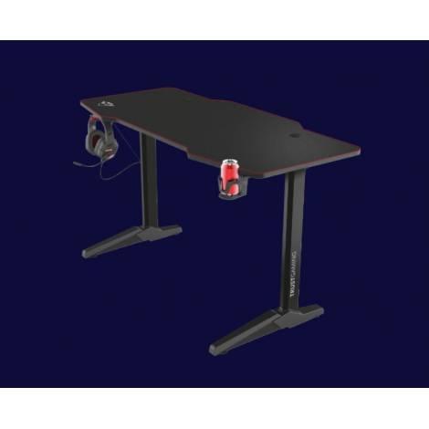 Trust GXT 1175 Imperius - XL Gaming Desk (Black) (23802)
