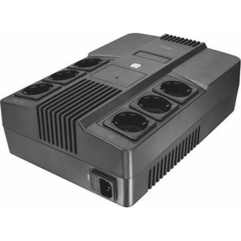 TRUST - Maxxon 800VA UPS with 6 standard wall power outlets - UPS Εξωτερικό (23326)