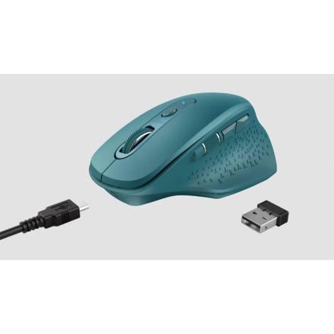 TRUST - OZAA Rechargeable Wireless Mouse - Μπλε (24034)