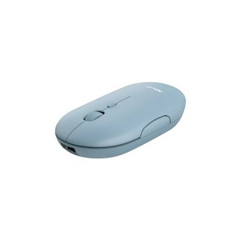 TRUST - PUCK Rechargeable Wireless & Bluetooth Silent Mouse - Μπλε (24126)