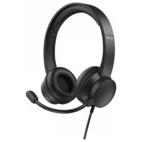 Trust Rydo On-Ear USB Headset - Black (24133)