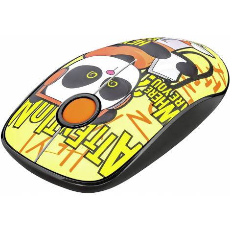 Trust Sketch Wireless USB Silent Mouse  1600 DPI - Yellow (23337) (PC)