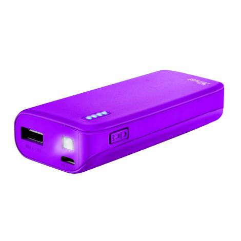 Trust Urban 4400 mAh Primo Powerbank purple