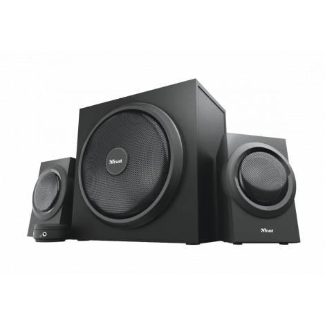 TRUST - Yuri 2.1 Speaker Set 120W - Μαύρο (23696)