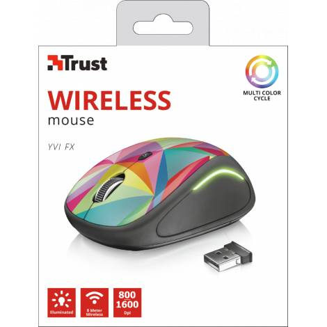 Trust Yvi FX Geo Wireless Mouse (PC) (22337)