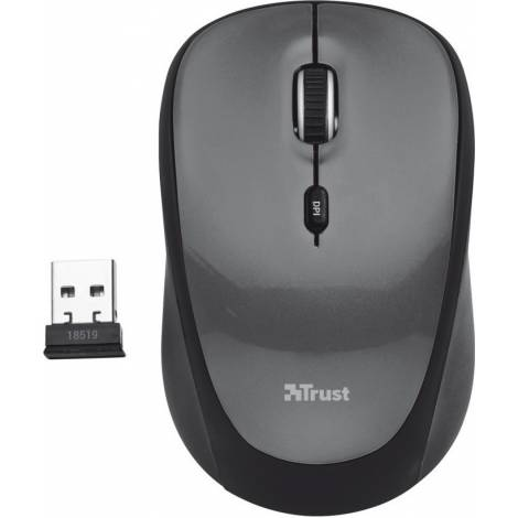 Trust yvi Wireless Mouse - Black (18519)