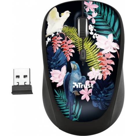 TRUST - Yvi Wireless Mouse - Parrot  (23387)