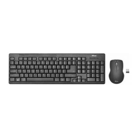 TRUST - Ziva Wireless GR Keyboard with mouse - Ασύρματο (22121)