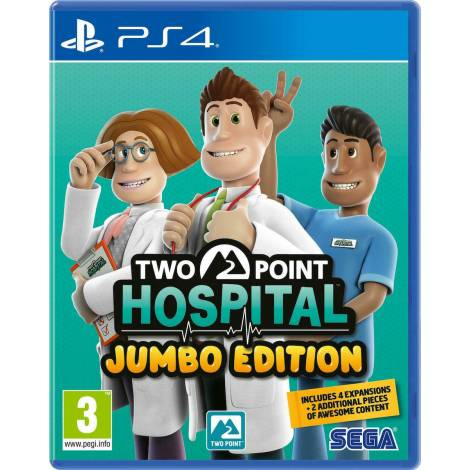 Two Point Hospital : Jumbo Edition (PS4)