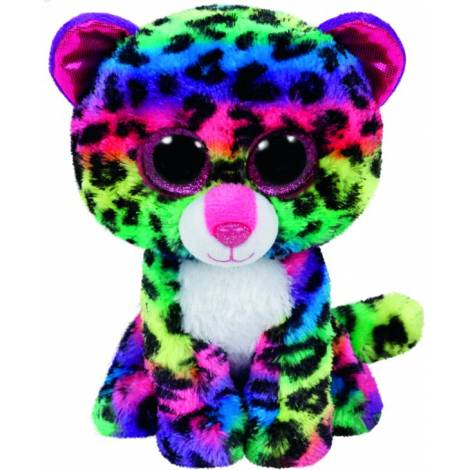 TY BEANIE BOOS - DOTTY THE LEOPARD MULTICOLOR PLUSH TOY (15CM) (1607-37189)