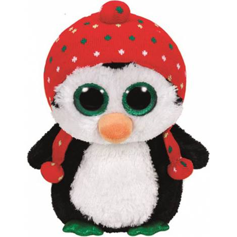 TY Beanie Boos - Penelope the Christmas Penguin Plush Toy (23cm) (1607-37148)