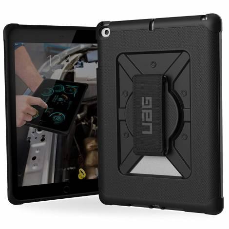 UAG Apple iPad (2017; 9.7 Screen) Metropolis Case-Black/BlackLogo (B-IPD17-E-BK/BK)