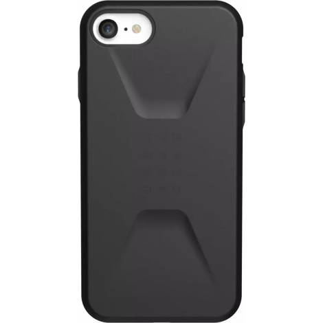 UAG Civilian για το iPhone SE (2020)/8/7, Black (11204D114040)