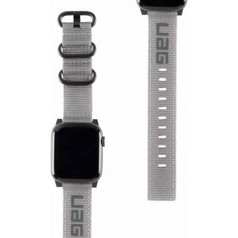 UAG Nato Strap for Apple Watch (42/44mm), Grey