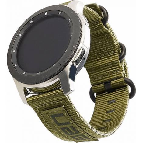 Υφασμάτινο Λουράκι UAG Nato Strap Olive Drab (Galaxy Watch (46mm) / Gear S3)  (29180C114072)