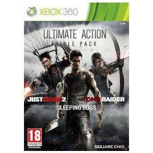 Ultimate Action Triple Pack (Just Cause 2/Sleeping Dogs/Tomb Raider) (XBOX 360)
