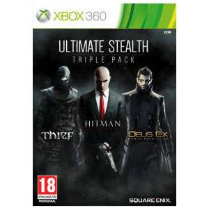 Ultimate Stealth Triple Pack (Thief/Hitman Absolution/Deux Ex) (XBOX 360)