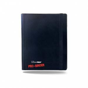 Ultra Pro 2-Pocket Pro Binder Holds 160 Cards Black/Blue