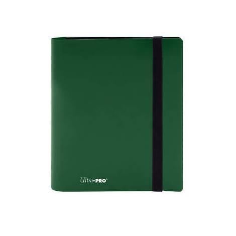 Ultra Pro 4-Pocket Pro Binder Holds 160 Cards Green
