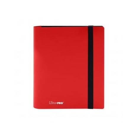 Ultra Pro 4-Pocket Pro Binder Holds 160 Cards Red