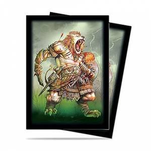 Ultra Pro Card Sleeves Oz Lion Standard Size 66x91 50 pcs