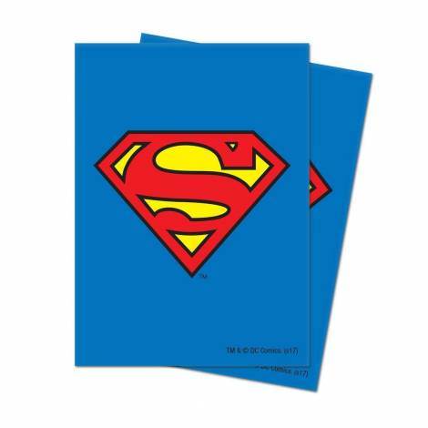 Ultra Pro Card Sleeves Superman - 66x91 Standard Size 65pcs
